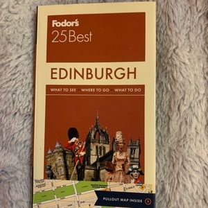 Fodors 25 best Edinburgh book